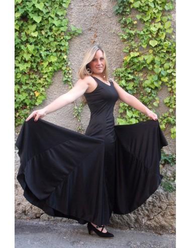 Robe entrainement Flamenco noire Anita