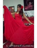 Vestido rojo de flamenca Yoremy Anita