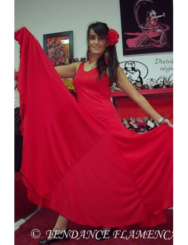Robe de Flamenco rouge Yoremy Anita