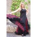 Robe espagnole grande taille noire Yoremy Anita